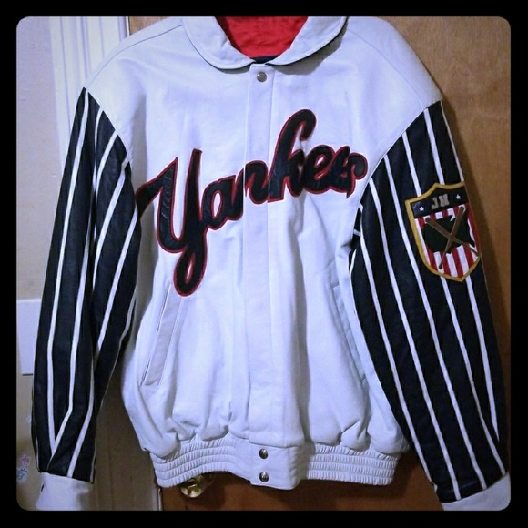 c7dbd8a9f New York Yankees Reversible Leather made by Jeff H
